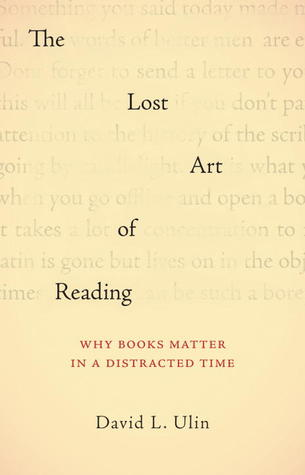 The Lost Art of Reading - cover art